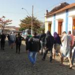 Suspeitos foram levados para o Parque da Cidades, em Barra Mansa, e depois transferidos para o Rio (foto: Dicler de Mello e Souza)