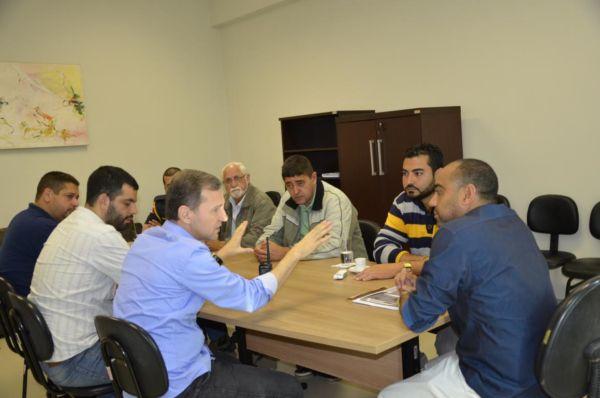 Integração: Prefeito se reuniu com representantes da Secretaria de Estado de Segurança Pública para conhecer projeto (Foto: Divulgação/Ascom PMPR)