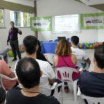 Profissionais participaram de palestra sobre exercícios físicos para idosos (Foto: Secom VR)