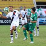 Vasco e Palmeiras fizeram um jogo de poucas oportunidades e ruim aos olhos dos torcedores (Foto: Carlos Gregório Jr/Vasco.com.br)