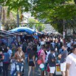 Rua das Compras lota a Vila Santa Cecília, em Volta Redonda (foto: Evandro Freitas - PMVR)