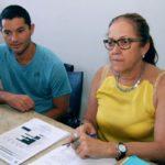 Competição em destaque: Secretária de Juventude, Esporte e Lazer, Roze Vilela, e Daniel Ferreira discutem detalhes do projeto (Foto: Chico de Assis-PMBM)