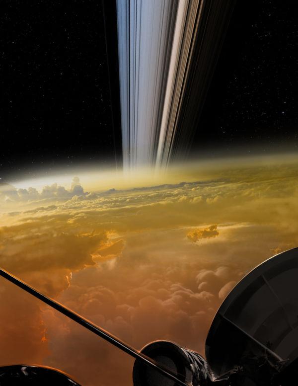 Final: A Cassini se desintegrou nas nuvens de Saturno