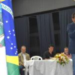 Ampliando: Deley participa da abertura das aulas na Faetec de Barra Mansa (Foto: Divulgação)