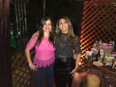Andrea Barros com Priscilla Rocha (Sabor Funcional)