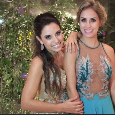 As modelos Natália Paiva e Carol Rizzo