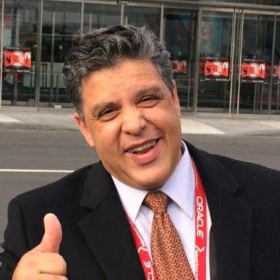 O diretor executivo do Canal 36, Jader Costa (aniversariante do dia)