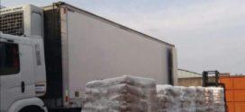 PRF apreende tablete de maconha em carga de amido, em Itatiaia