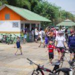 Esporte: Percurso de 10km marcou o primeiro dia de uso do local (Foto: Gabriel Borges-Secom/VR)