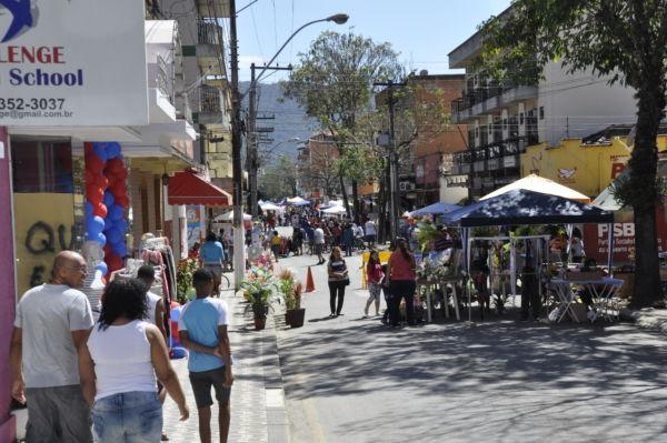 'Mega Domingo de Compras': Evento teve o objetivo de fomentar e incentivar a economia da cidade (Foto: Divulgação)