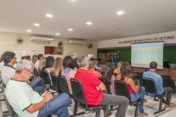 Aberto à população: Reunião de prestação de contas aconteceu na Câmara Municipal