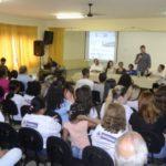 Discurso: Gustavo Tutuca fala durante lançamento do ID Jovem