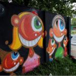 Arte urbana: Anderson de Souza já deixou sua marca registrada em diversos locais
