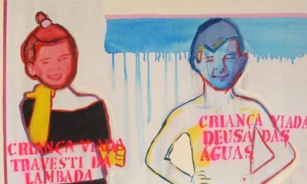 Exemplo: Uma das obras de arte que fazem parte da exposição cancelada por museu ligado a banco depois de protestos (Imagem: Reprodução internet)