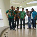 Três Rios: Orquestra La Original de Música Latina fecha a programação cultural de domingo (Foto: Luanda Morena)