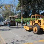 Operação: Trabalhos começaram nesta semana e tiveram como foco ruas do centro da cidade (Foto: Divulgação/Ascom PMP)
