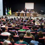 ID Jovem: Evento aconteceu no Teatro Professor Jesus Moreira Maciel, do Colégio João XXIII (Foto: Gabriel Borges/Secom VR)
