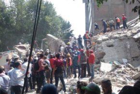 México decreta três dias de luto por causa do terremoto