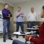 Expectativa: Novos funcionários da Saúde são recebidos pelo secretário Alfredo Peixoto   (Evandro de Freitas – Secom PMVR)