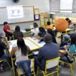 Professores da rede municipal participam de curso de capacitação (foto: Paulo Dimas)