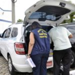 Fiscalização está sendo feita no Parque da Cidade, em Barra Mansa (Paulo Dimas)