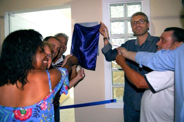 Rodrigo Drable inaugura creche em Barra Mansa (foto: Chico de Assis)