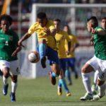 Apesar da altitude de 3.640 metros da capital boliviana, a seleção brasileira dominou a partida (foto: Lucas Figueiredo/CBF)