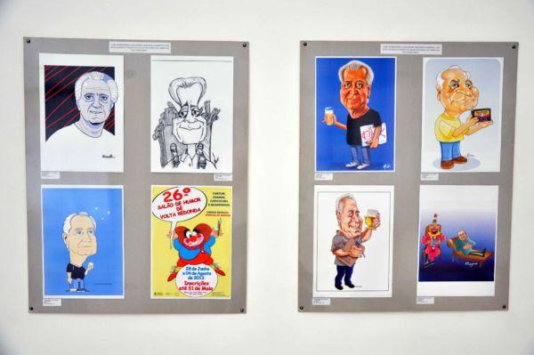 Salão de Humor de Volta Redonda: Cartum, charge, caricatura e história em quadrinhos terão um espaço especial na cidade (Fotos: Divulgação)