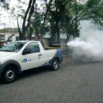 Fumacê: Veículo fará combate emergencial pelo prazo de 30 dias (Foto: Chico de Assis)