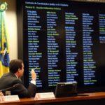 Pró-Governo: Comissão de Constituição e Justiça aprecia parecer do deputado Bonifácio de Andrada (PSDB-MG) (Foto: José Cruz/Agência Brasil)