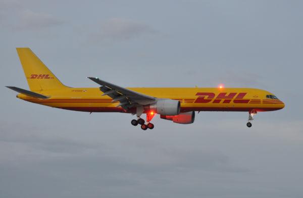 DHL: Depois do voo, a devolução