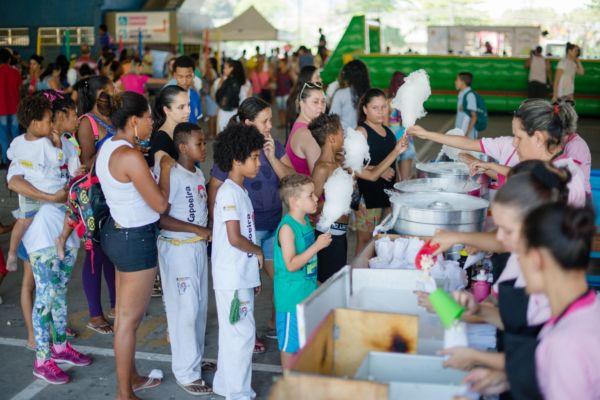 Segundo assessoria, primeira festa para celebrar o Dia das Crianças organizada pela prefeitura atraiu 30 mil pessoas (Foto: Gabriel Borges-Secom/VR)