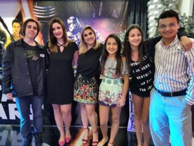 Pedro Paulo Francisco, Ana Rosa Savelli, Ana Vitória Savelli Cardoso, Ana Clara, Jade e Júlio Cardoso