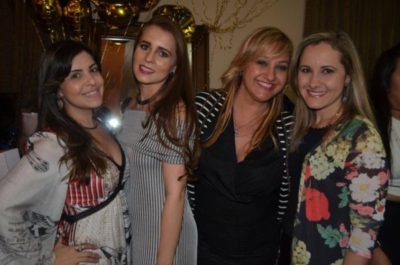 Empresárias Camila Cotta e Bianca Vilela, a promoter Ana Paula Delgado e a dentista Renata Nápoli