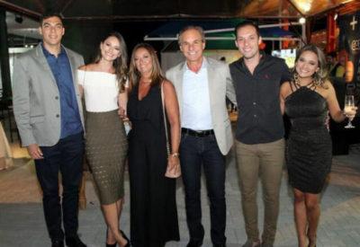 Daniel Fagundes e Lara Capobiango, Berenice Capobiando e Rafael Capobiango, Daniel Capobiango e Laís Barcellos
