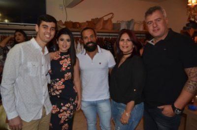 Ítalo Ramos, Ana Carolina Torres, Alexandre Miguel e os empresários Ana Cláudia Feijolo e Rafael Gracioso