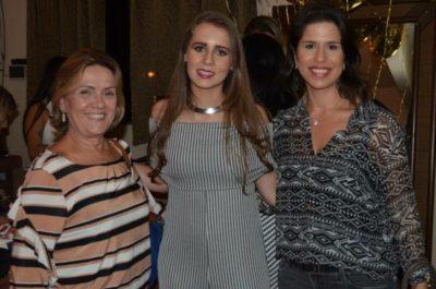 Hercília Lage, Bianca Vilela e Vanessa Pontes