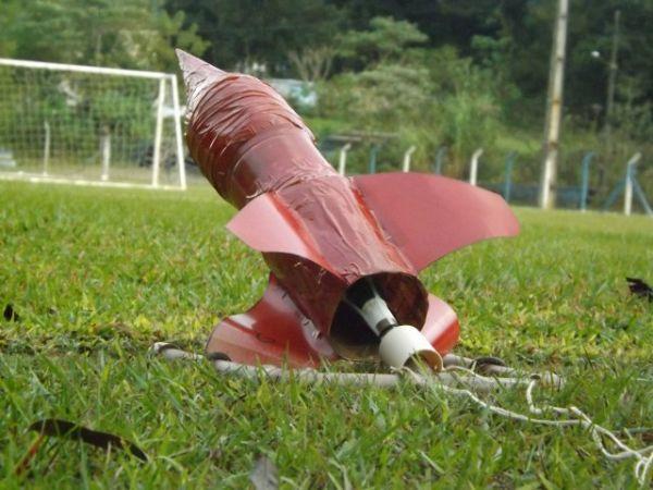 Foto jornada de foguetes em BP