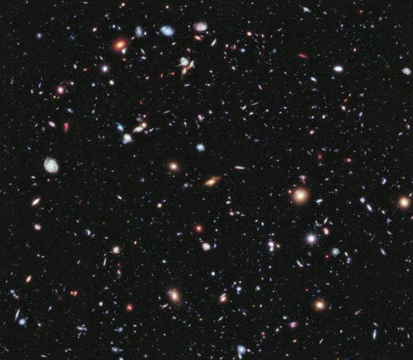 Universo: Galáxias como grãos de areia