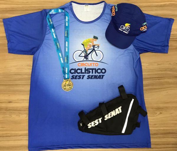 Esporte: Ciclistas receberão um kit especial (Foto: Divulgação)