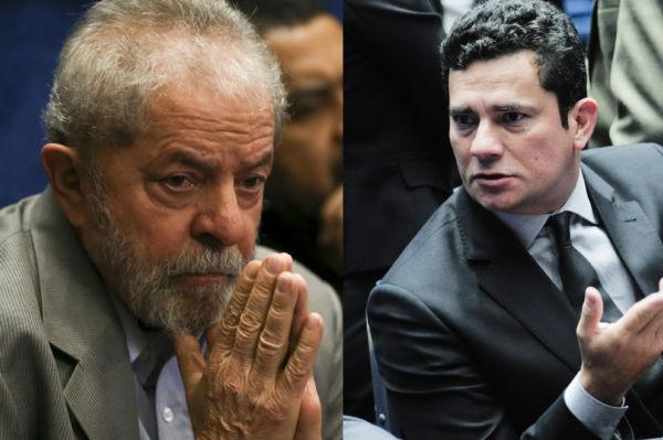 Impasse: Lula e Sérgio Moro mais uma vez se enfrentam; desta vez a pauta é a veracidade de documentos apresentados pela defesa do ex-presidente (Foto: Arquivo)