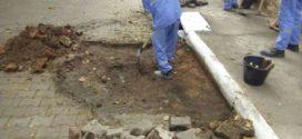 Saae faz operação tapa buracos em Barra Mansa