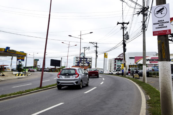 Monitoramento: Sinalização recém-instalada visa inibir ação de criminosos nas ruas da cidade (Foto: Divulgação)