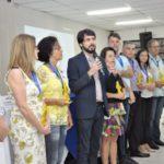 Servidor público: Entrega foi feita pelo prefeito Samuca Silva e pelo vice-prefeito Maycon Abrantes (Foto: Geraldo Gonçalves/Divulgação SecomVR)