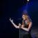 Sandy comemora sucesso da turnê 'Meu Canto' e chega a Resende