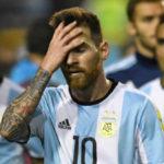 Drama argentino: Messi, um dos melhores jogadores da história, pode ficar fora da Copa do Mundo