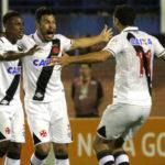 Andrés Rios comemora gol marcado que garantiu a vitória do Vasco em Florianópolis (Fotos: Carlos Gregório Jr/Vasco.com.br)