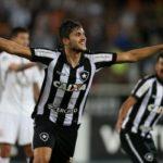 Igor Rabello marcou o gol da vitória do Botafogo sobre o Corinthians (Foto: Vitor Silva / SS Press / Botafogo)
