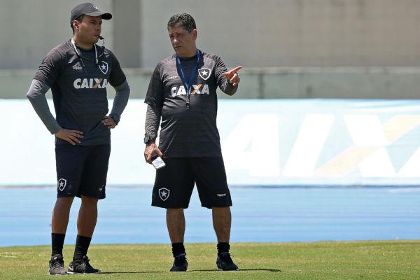Comandante alvinegro: Jair Ventura tem contrato até o fim de 2018, mas multa rescisória baixa coloca diretoria em alerta (Foto: SS Press/Botafogo.com.br)