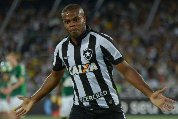 De virada: Vinícius Tanque marcou aos 49 minutos do segundo tempo para decretar a vitória alvinegra (Foto: Vitor Silva / SS Press / Botafogo)